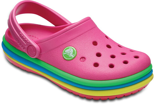 Crocs CB Rainbow Band Clog Kids